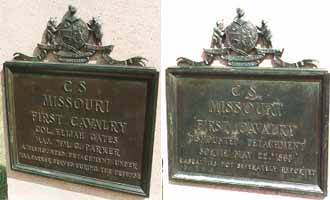 1st Missouri Cavalry [Dismounted] Regimental Monuments