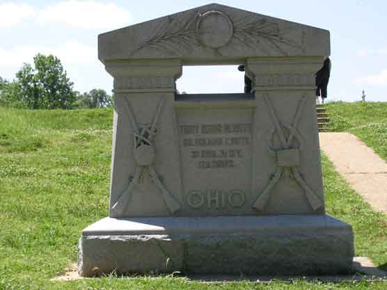 32d Ohio Infantry Regimental Monument