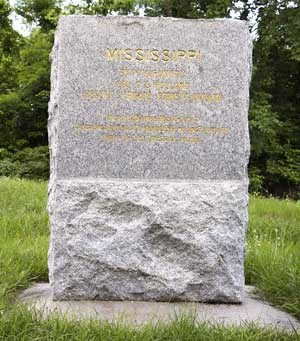37th Mississippi Infantry Regimental Monument