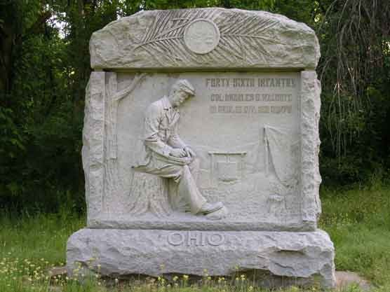 46th Ohio Infantry Regimental Monument