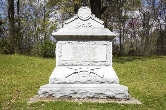 48th Ohio Infantry Regimental Monument