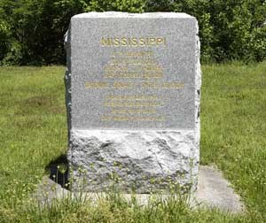 4th Mississippi Infantry Regimental Monument