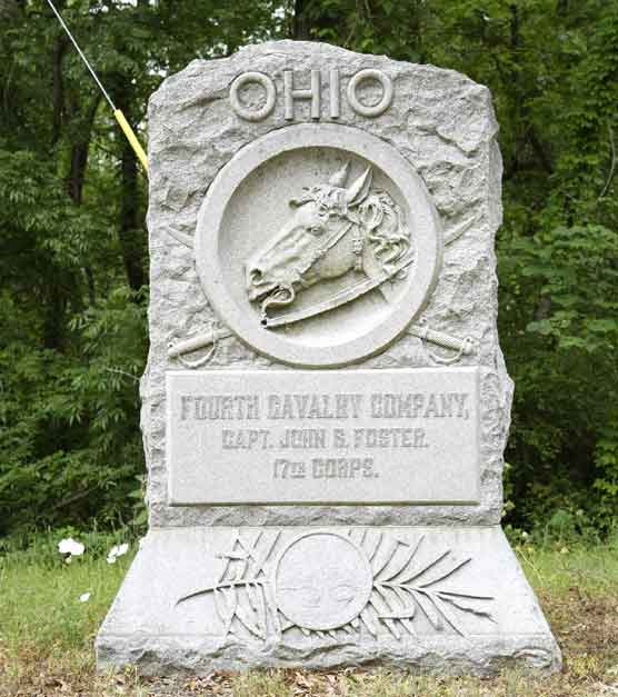 4th Company Ohio Cavalry Regimental Monument
