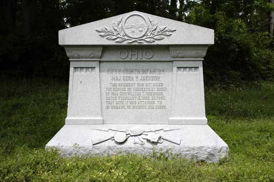 58th Ohio Infantry Regimental Monument