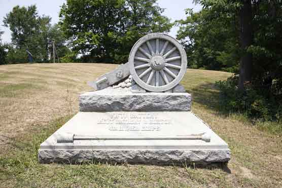 5th Battery Ohio Light Artillery Regimental Monument