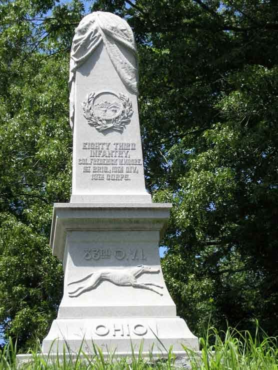 83d Ohio Infantry Monument