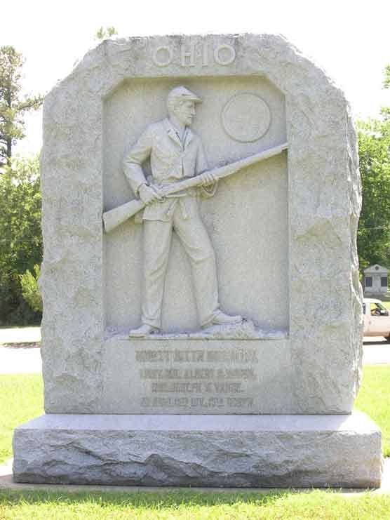 96th Ohio Infantry Monument
