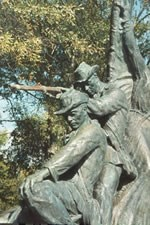 Closeup of Alabama Memorial