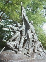 Rear view of Alabama Memorial