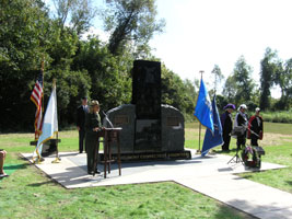 Connecticut State Memorial Dedication