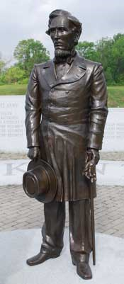 President Jefferson Davis Bronze Statue - Kentucky Monument