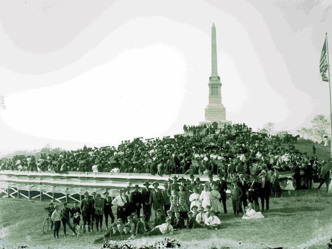 1909 Dedication of the MS Mem.