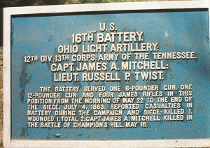 16th Ohio Battery Tablet