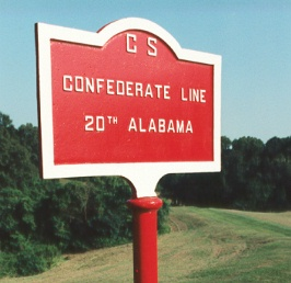 20th Alabama Infantry Tablet