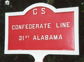 31st Alabama Infantry Tablet