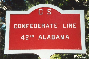 42d Alabama Infantry Tablet