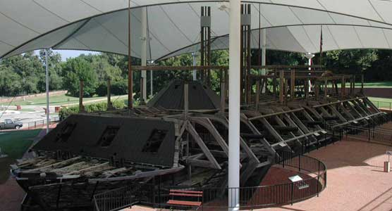 USS Cairo Ironclad Gunboat Exhibit