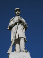 Confederate Soldier Statue, Soldiers' Rest