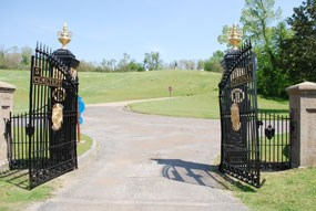 Vicksburg National Cemetery Entrance Gates