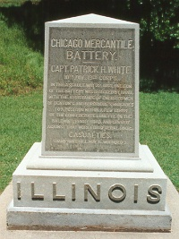 Chicago Mercantile Battery monument