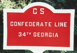 34th Georgia Infantry Tablet