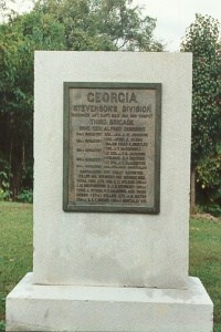 34th Georgia Infantry Regimental Monument