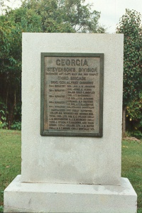 56th Georgia Infantry Regimental Monument