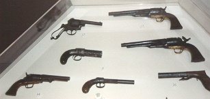 Handguns Recovered from the USS Cairo
