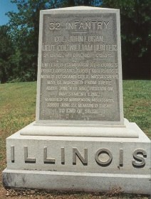 North State Auto >> 32nd Illinois Infantry - Vicksburg National Military Park ...