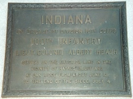 Unit postion marker