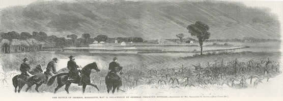 Sketch - McPherson Entering Jackson