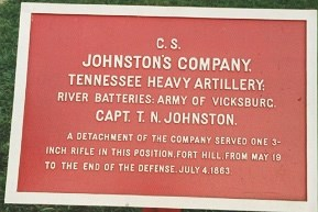 Tennessee Heavy Artillery Unit marker