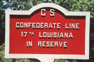 17th Louisiana Infantry Tablet