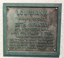 26th Louisiana Infantry Regimental Monument