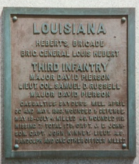 3d Louisiana Infantry Regimental Monument