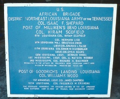 United States African Brigade Tablet
