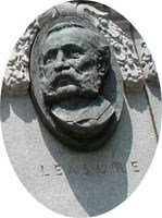Col. Daniel Leasure Relief Portrait