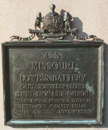 Lowe's Battery Missouri Artillery Regimental Monument