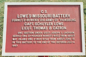 Lowe's Battery Missouri Artillery Tablet