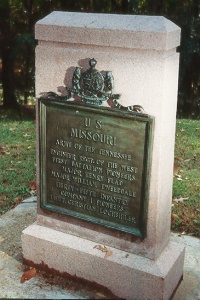1st Missouri Engineer Regiment Monument