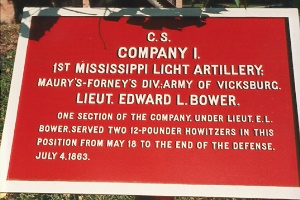 1st Mississippi Light Artillery, Company I Tablet