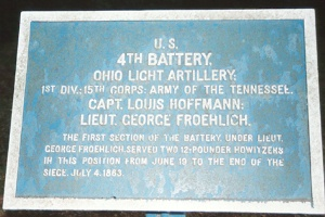 4th Battery Ohio Light Artillery Tablet
