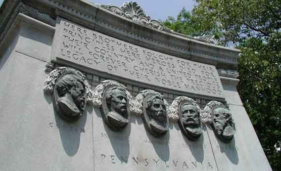 Pennsylvania State Memorial Relief Portraits