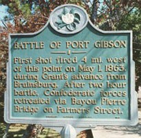 Battle of Port Gibson State Historical Marker