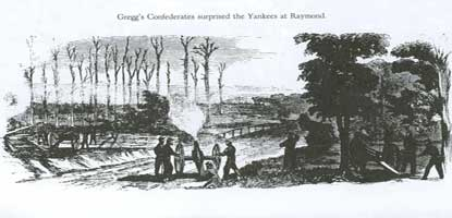 Opening the Battle of Raymond Sketch