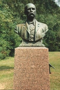 Capt. William T. Rigby, bronze bust