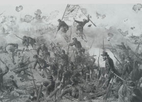 Assault on Railroad Redoubt, May 22, 1863