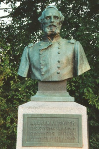 Brig. Gen. Andrew J. Smith, bronze bust
