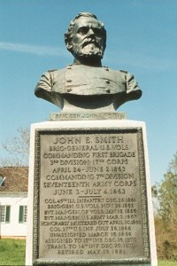 Brig. Gen. John E. Smith, bronze bust