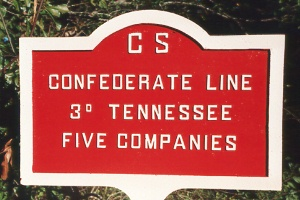 3d Tennessee Infantry Tablet
